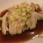 パンダ飯店 - ①蒸し鶏
