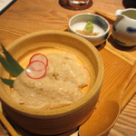 17542896 - 吉野くず使用 自家製ごま豆腐 580円