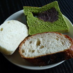boogaloocafe - サラダランチ<\850>(自家製パン食べ放題、2013年1月)