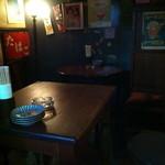 酒場 ミラクル商會 - テーブル席