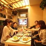 フィオーリア ギンザ アリアブル - 自慢の料理と飲み放題、個室、カラオケ込 のお得なコースは5,000円~♪
