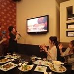 フィオーリア ギンザ アリアブル - カラオケ・DVD上映等の設備も充実♪ プライベートなパーティー等に◎