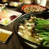 とびた - 料理写真:大山鶏使用の鶏もつ鍋宴会