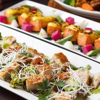 姫沙羅 - 温製料理の一例