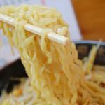 雨風本舗 - 料理写真:平打ちのちぢれ麺【ネギみそラーメン】