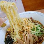 雨風本舗 - 冷やし中華もちぢれ麺