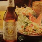 コカレストラン - タイ料理にはシンハービールオススメ!!乾杯にどうぞ 1本650円