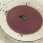 シェ キリー - スープ ドゥ ヴィオレット パルマンティエ