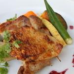 サン シエロ - 鶏もも肉のグリル