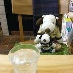 シーフィールド - つぬっこ&ちびつぬだよ!去年の年末におじゃました、昭和町の小さなアトリエのようなカフェ『シーフィールド(c‐field)』さん。またおじゃましちゃいました~
