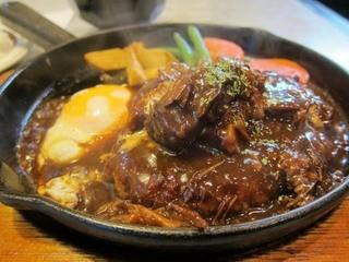 キッチンABC 西池袋店 - ビーフシチューハンバーグ定食