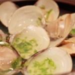 四季料理 いけ増 - 小蛤の潮仕立て