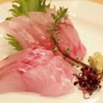 四季料理 いけ増 - ほうぼう刺身