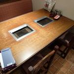 上野 太昌園 - テーブル