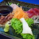 くらち - 新鮮なお刺身をサラダに仕立てました!