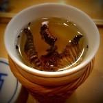 Kyousushiookini - 香ばしいヒレ酒