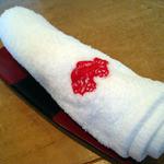 17554661 - おしぼりに鯛の刺繍