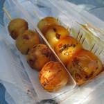東山だんご - 料理写真:焼き団子とみたらし団子