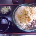 吉野屋 - 野菜天ぷら合いもり「680円」