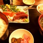 mihashiya - さしみ定食