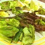 安楽亭 - やっぱり野菜だぞーーー!!
