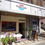 ワッツカフェ - 「かいぶつくん」の右側です
