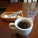 ワッツカフェ - ワッツオリジナルブレンドコーヒーはフレイバーブレンドで美味でした