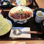 かつ一番 - 味噌カツランチ750円