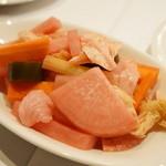 OGINO Red&Green Restaurant - 自家製ピクルス