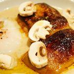 OGINO Red&Green Restaurant - フォアグラソテー 奈良産菊芋のヴルーテ 温玉とバニラオイル(2500円)