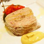 OGINO Red&Green Restaurant - 鴨とグリーンペッパーのテリーヌ 高知県産柚子胡椒風味(1850円)