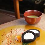 eX cafe - テレビや雑誌でも取り上げられた【くろまるロールケーキ】♪播磨園抹茶も人気です!