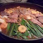 17565540 - ハラミ&ホルモン鍋