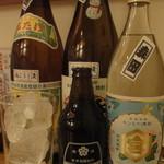 小石川 かとう - 本日のボトル勢揃い