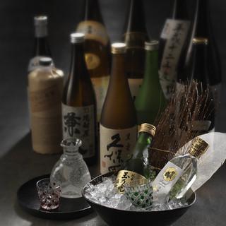 マスターソムリエ岡昌治が監修した多彩なお酒。