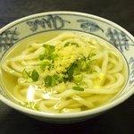 塩田麺業 - シンプルに・・・かけ(小)