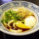 塩田麺業 - 温玉ぶっかけ(小)冷
