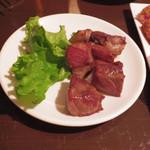 17570122 - イベリコ豚ステーキ