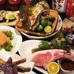 しょうき家 - 料理写真:コース料理は3500円からご用意しています。しかも飲み放題付き!!