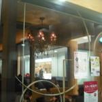 エスタシオンカフェ グラン - ここに座りたかった(笑)