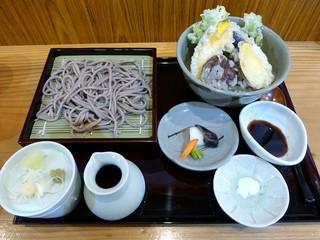 蕎麦処 こだか - ミニ丼セット(2013/03/01撮影)