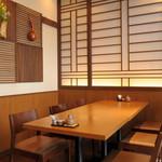 天ぷら ひさご - 4名様〜22名様対応のテーブル個室完備