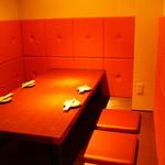 ダイニング なごみ - 個室は完全座敷で気兼ねなく楽しめる♪【白の個室】★【黒の個室】(4~6名様用)