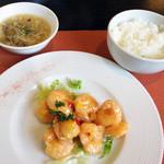 ア・ターブル・エスプリ - メインとご飯&スープ