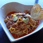 イタリアンダイニング アンプ - 恋の木セットの「赤い糸の愛がもスパゲッティ」