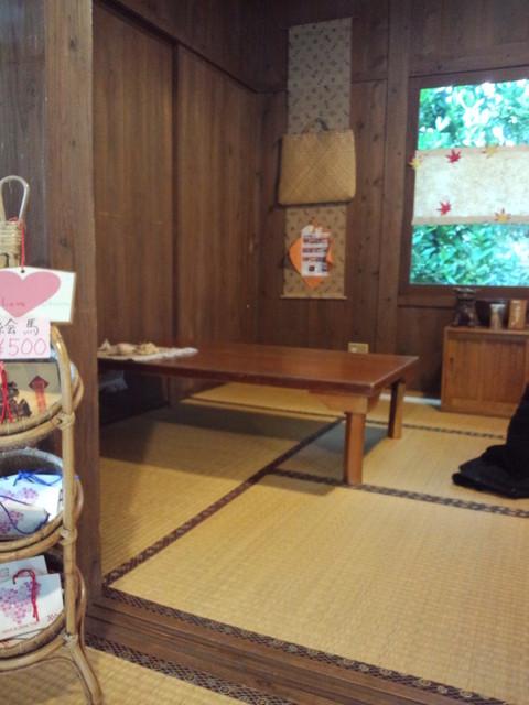 ブクブクー茶屋 - 店内◇2013.01