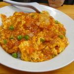 あまからや - 海老と卵のチリソース