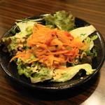ウランバートル - 2013.2 ウランバートル・サラート(600円)自家製ピクルスの特製サラダ