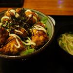 ばっしらいん - 2013.02 鶏の唐揚げ南蛮丼