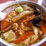 中国四川料理 太陽 - 五目麺830円